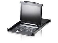 """Aten 17"""" CL1008M 8-port LCD KVM for SMB-TAA Compliant"""