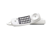 AT&T Trimline TL-210 WH Standard Phone - White