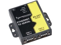 Brainboxes 2 Port RS232 Ethernet to Serial Adapter