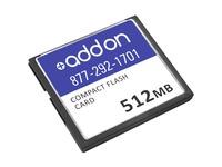 AddOn Cisco CISCO/512CF Compatible 512MB Flash Upgrade