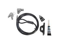 CSP Guardian Series Desktop Security Cable Lock - Individual Access