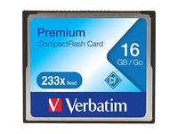 16GB 233X Premium CompactFlash Memory Card