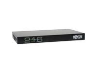 Tripp Lite 16-Port Cat5 IP KVM Switch 1 Local 2 Remote User 1URM Rackmount