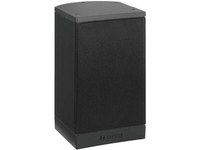 Bosch LB1-UM20E-D Indoor/Outdoor Wall Mountable Speaker - 20 W RMS - Charcoal, Black