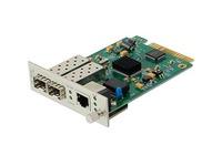 AddOn 1 10/100/1000Base-TX(RJ-45) to 2 Open SFP Ports with Failover Protection Media Converter