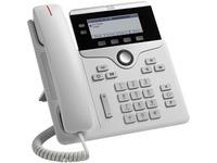 Cisco 7821 IP Phone - Corded - Wall Mountable, Desktop - White