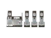 AT&T Connect to Cell CLP99483 DECT 6.0 Cordless Phone - Silver, Black