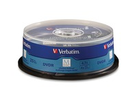 M-Disc DVDR 4.7GB 4X with Branded Surface - 25pk Spindle