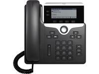 Cisco 7821 IP Phone - Corded - Wall Mountable - Black
