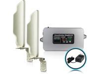 Smoothtalker Stealth X2-60dB Building Cellular Signal Booster - Rural