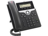 Cisco 7811 IP Phone - Corded - Wall Mountable, Desktop - Charcoal