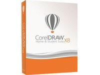 Corel CorelDRAW X8 Home & Student Suite - Box Pack