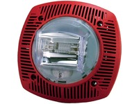 Bosch G-SSPK24-15/75WLPR Wall Speaker/Strobe 15/75cd 24V, Red