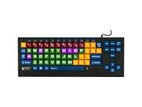 Ablenet Kinderboard Large Key Keyboard Wired color-coded Keys