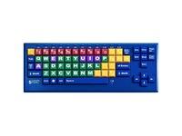 Ablenet BigBlu Kinderboard Bluetooth Color Coded 1-in/2.5-cm Large Keys