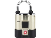 Aluratek Bio-Key TouchLock TSA All Weather Keyless Bio-Lock with Fingerprint Recognition
