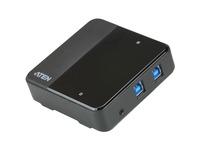 ATEN 2 x 4 USB 3.2 Gen1 Peripheral Sharing Switch