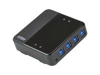 ATEN US3344 4 x 4 USB 3.2 Gen1 Peripheral Sharing Switch