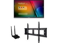 """Viewsonic IFP5550-E1 - 55"""" ViewBoard 4K Ultra HD Interactive Flat Panel Bundle"""