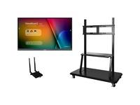 """Viewsonic IFP5550-E2 - 55"""" ViewBoard 4K Ultra HD Interactive Flat Panel Bundle"""