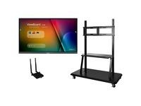 """Viewsonic IFP7550-E2 - 75"""" ViewBoard 4K Ultra HD Interactive Flat Panel Bundle"""
