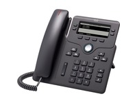Cisco 6851 IP Phone - Refurbished - Charcoal