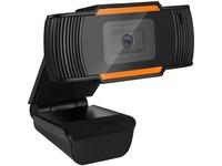 Adesso CyberTrack H2 Webcam - 0.3 Megapixel - 30 fps - Black - USB 2.0
