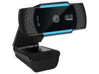 Adesso CyberTrack H5 1080P Webcam - 2.1 Megapixel - 30 fps - USB 2.0 - Auto Focus - Built-In MIC - Tripod Mount - Privacy Shutter Cover