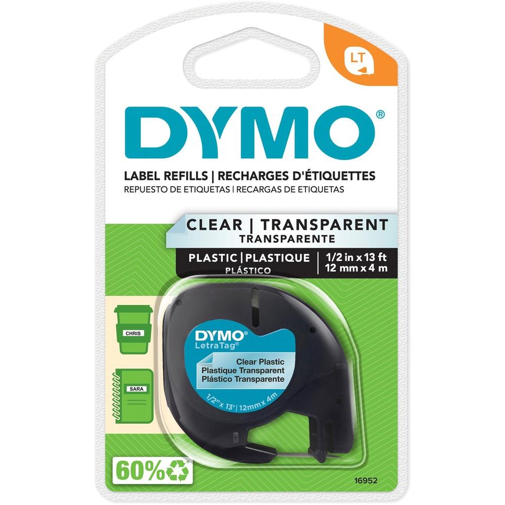 Dymo LetraTag 16952 Printer Tape Cassette - DYM16952