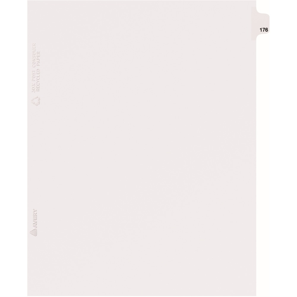 Avery Individual Side Tab Legal Exhibit Dividers - AVE82392