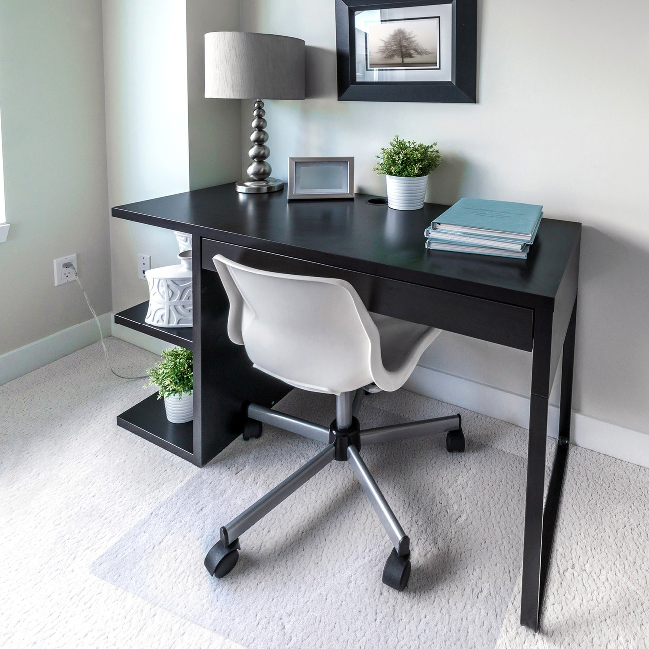 pvc home office chair floor. It Has Twice The Impact Strength Of PVC To Provide A Highly Rigid, Ergonomic, Easy-glide Surface. Pvc Home Office Chair Floor