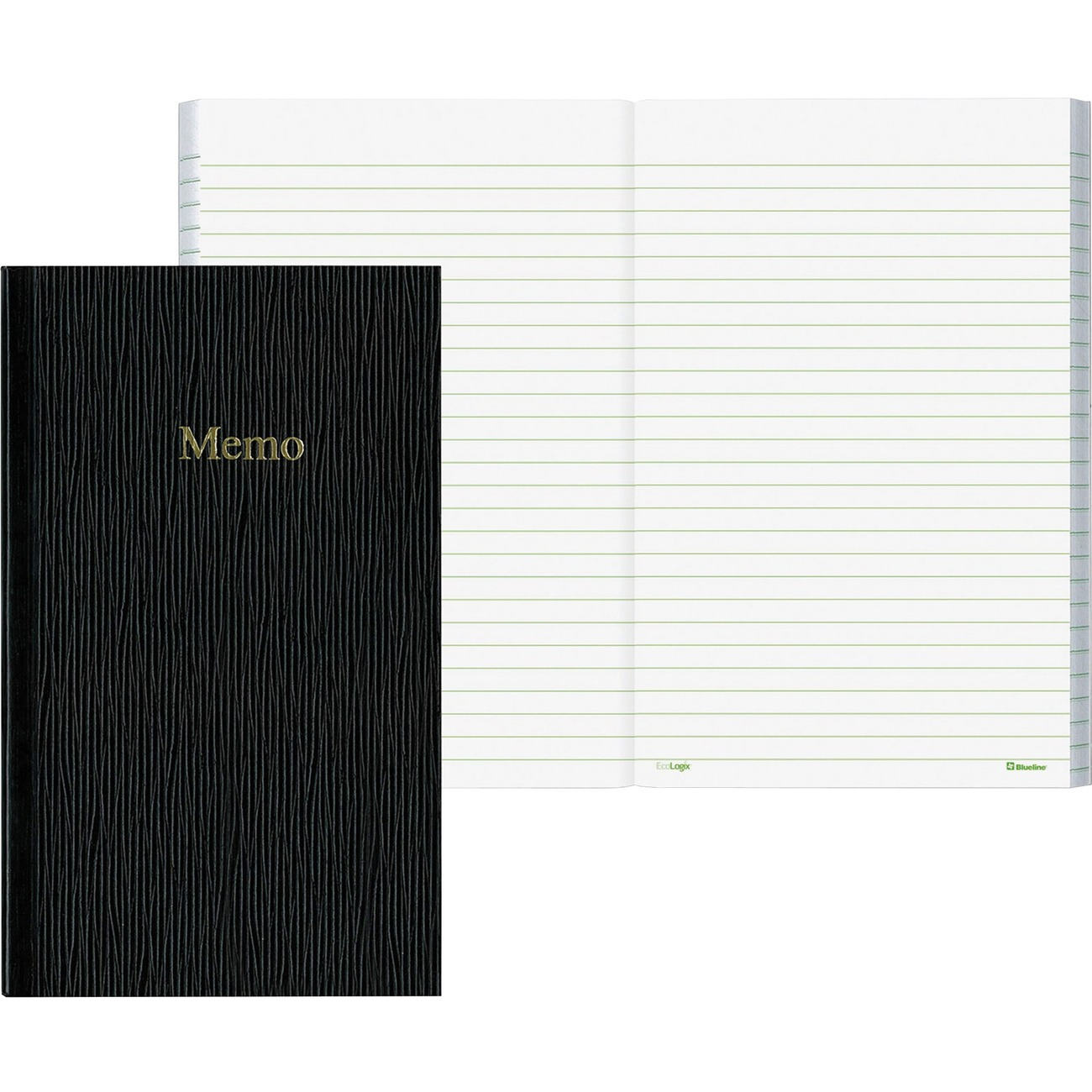 Small Blueline Memo Book