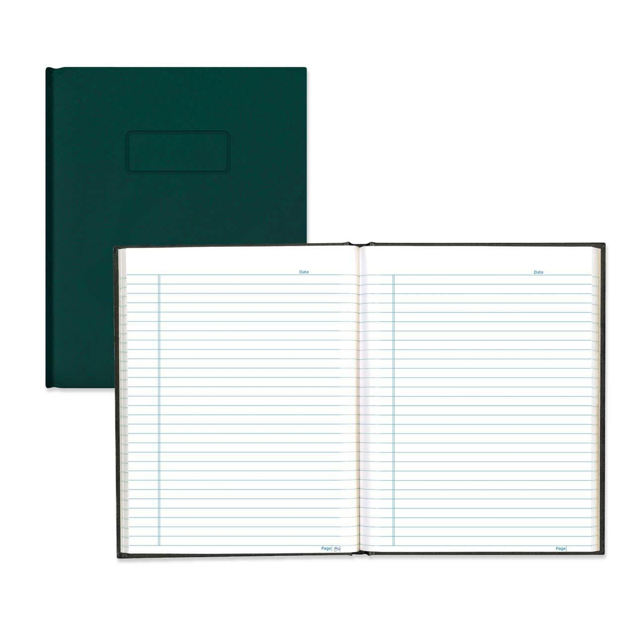 Rediform office products subject wirebound notebook wide - Blueline College Ruled Composition Book 192 Sheets Perfect Bound Blue Margin 9 1 4 X 7 1 4 White Paper Green Cover Hard Cover Self Adhesive