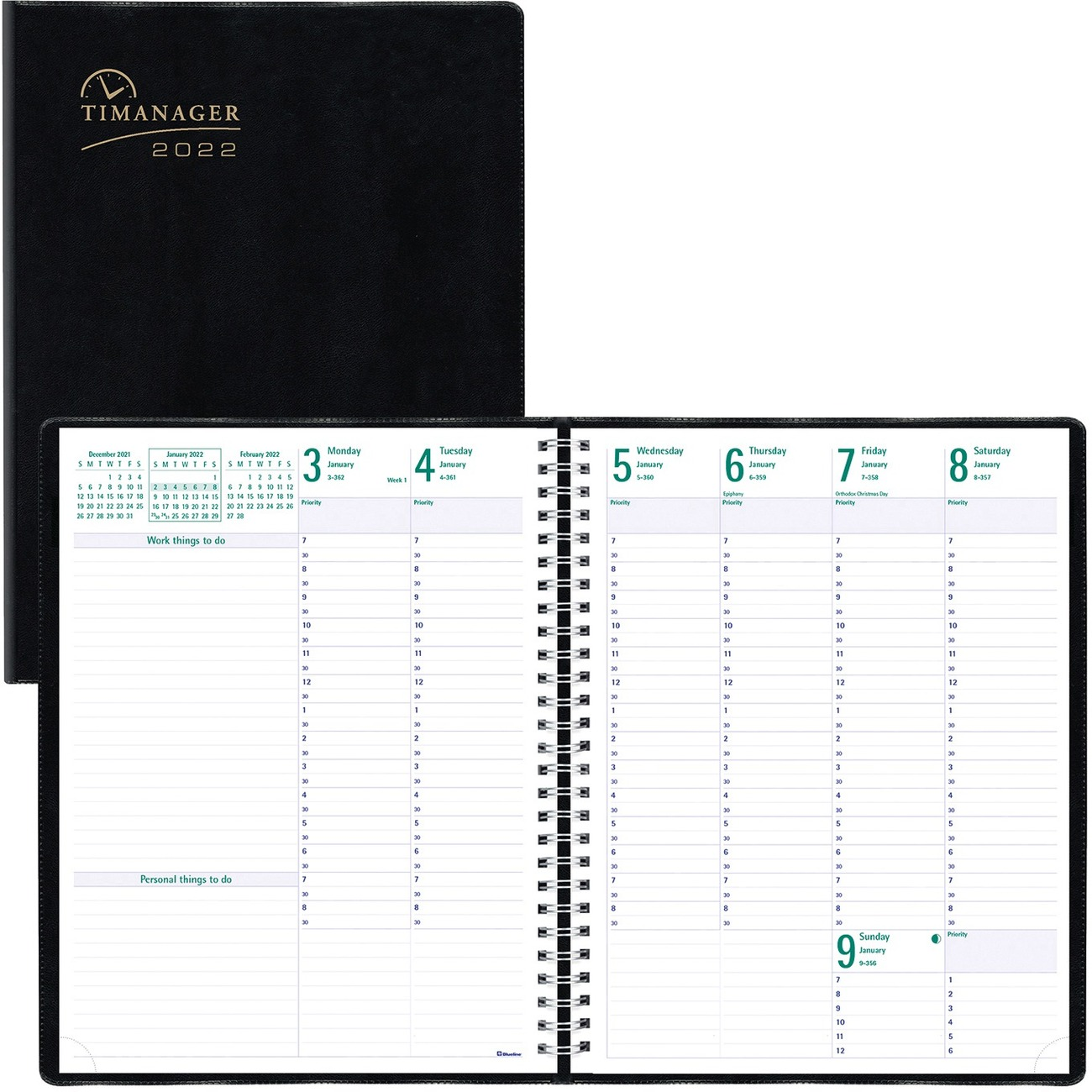 appointment planners 2018