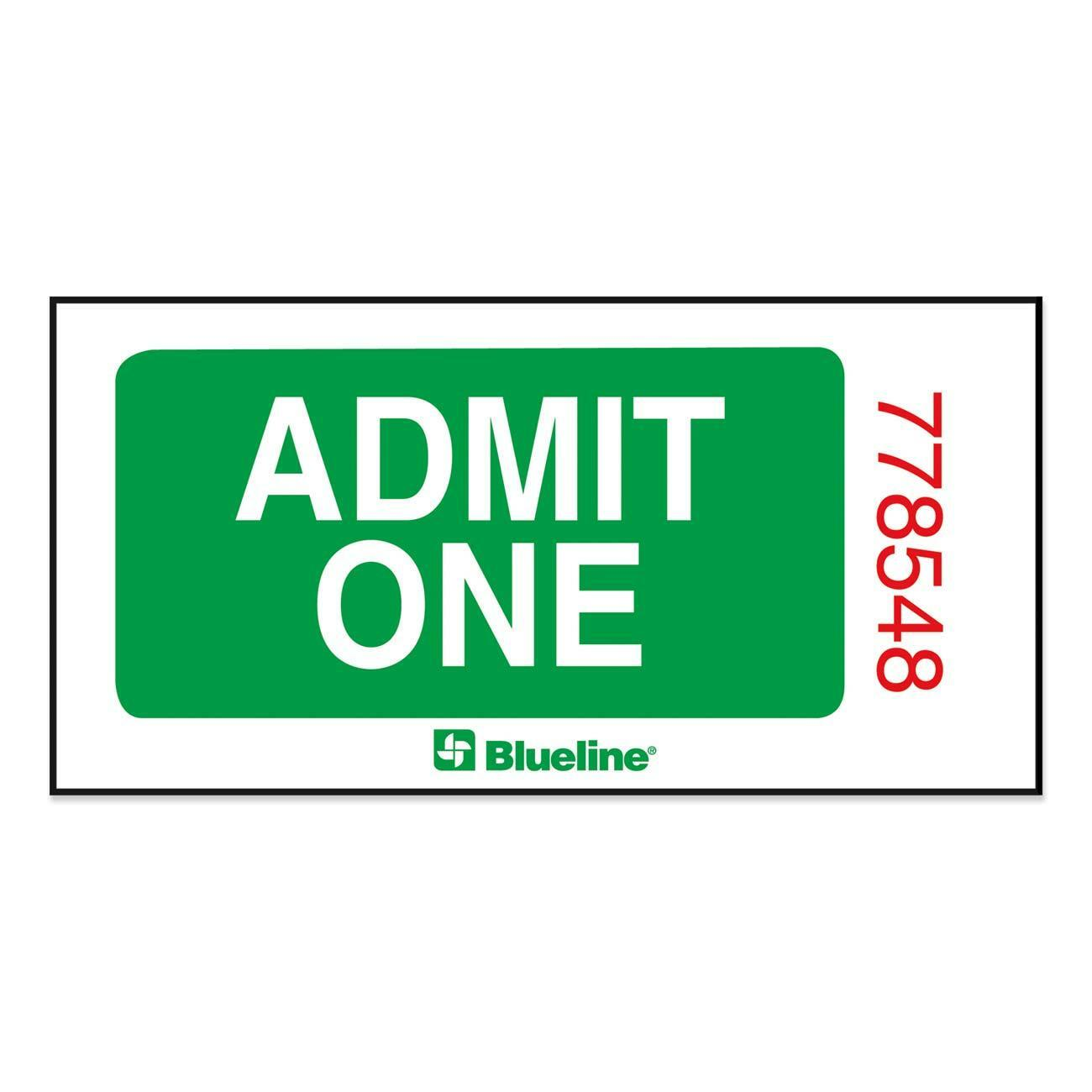 admit one ticket invitation template Quotes