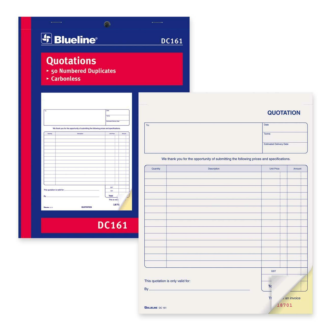 quotation forms