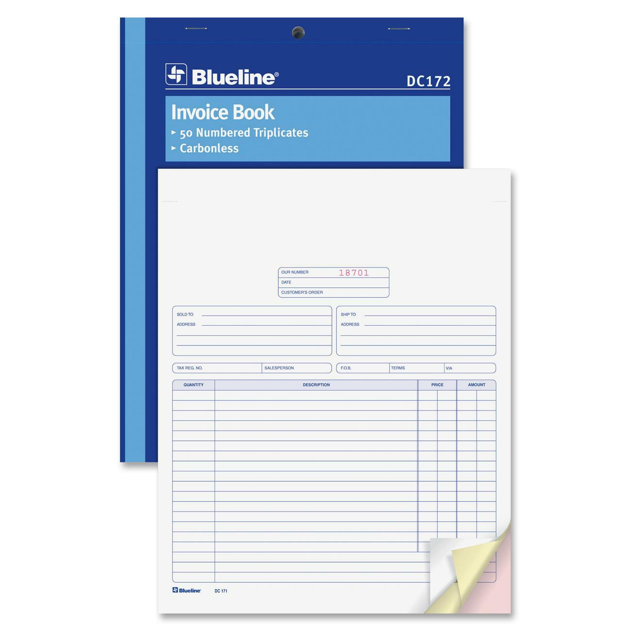 Okanagan Office Systems Office Supplies Envelopes Forms - 3 part invoice book