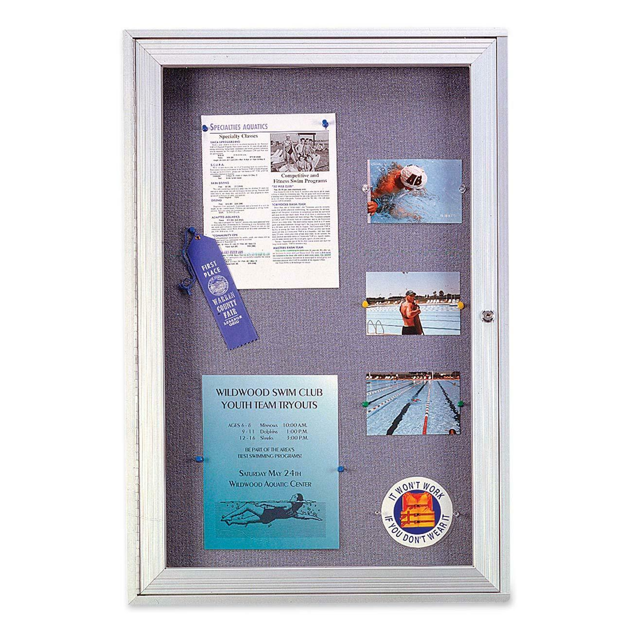 office cork boards. Enclosed Bulletin Board With One Door Is Designed For Indoor And Outdoor Use. Lockable Hinged Features Clean, Shatter-resistant Acrylic To Keep Your Office Cork Boards I