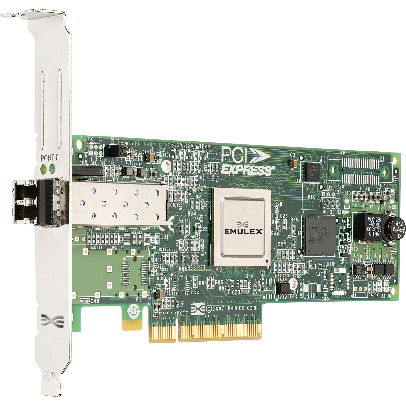 IBM Single Port Fibre Channel Host Bus Adapter PCI Express 8Gbps 42D0491 42D0485