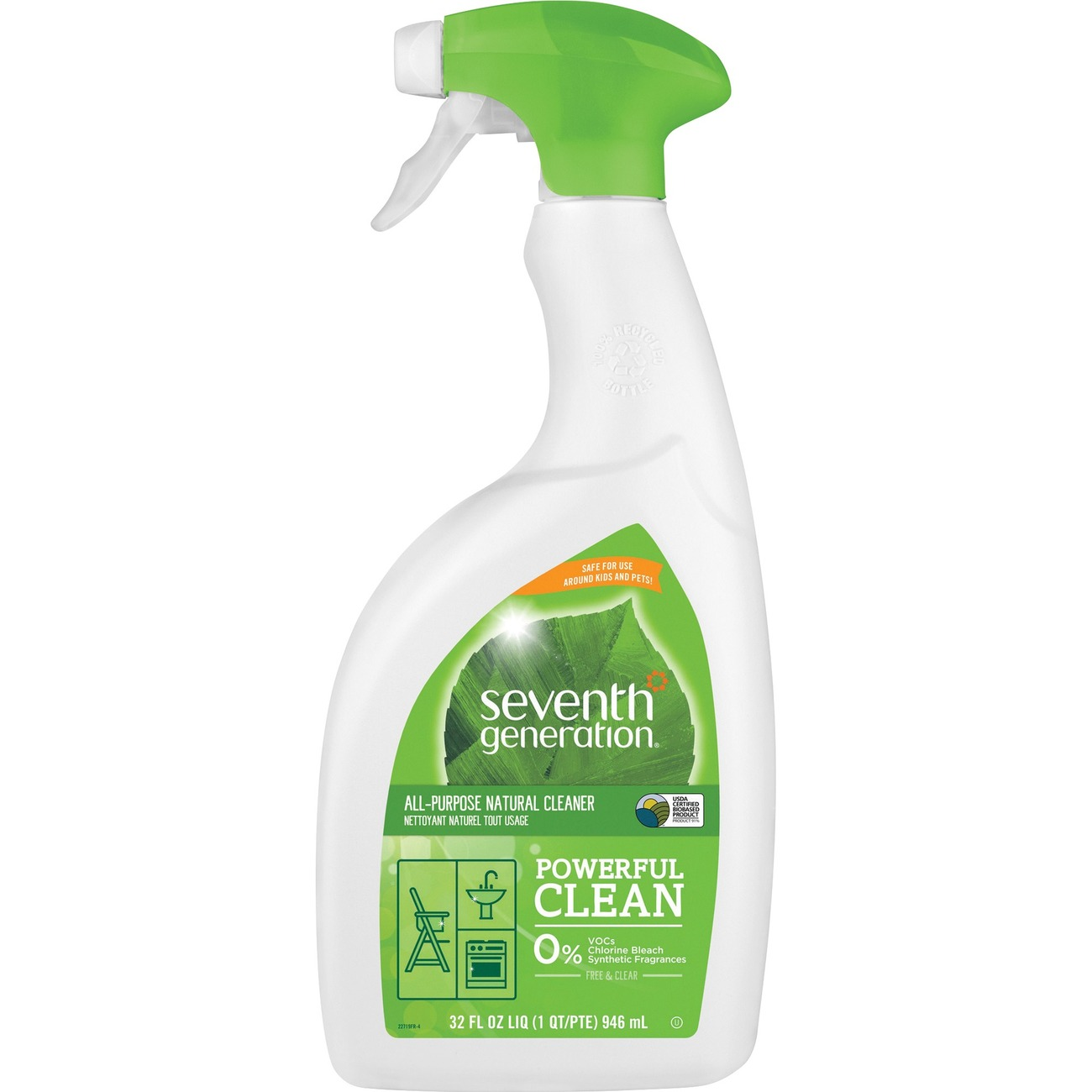 Seventh Generation Natural Eco-Friendly All-Purpose Cleaner