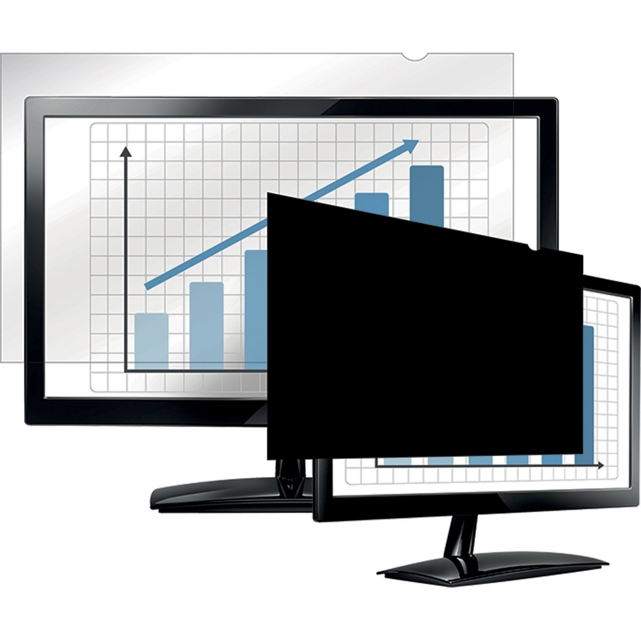 Fellowes Privacy Filter For 24 WideScreen Monitors 16:10 4801601