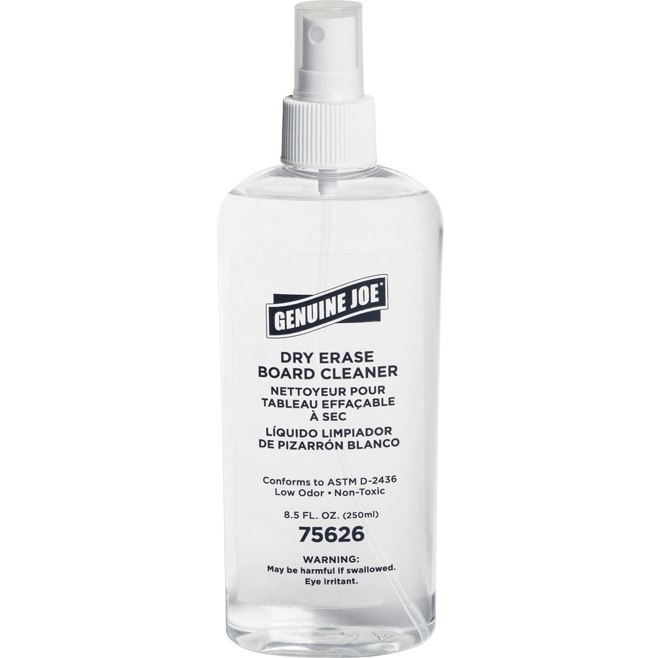 super popular f55eb df944 Low-odor dry-erase board cleaner comes in a convenient 8 oz. pump spray  bottle. It cleans shadows, ghosting and stubborn marks from dry-erase  boards.