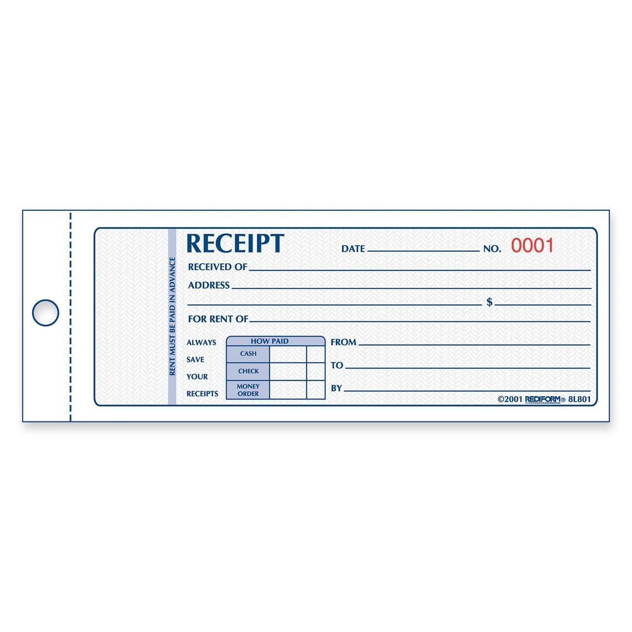 Format Of House Rent Receipt house rent receipts format format – Rent Receipt Format India