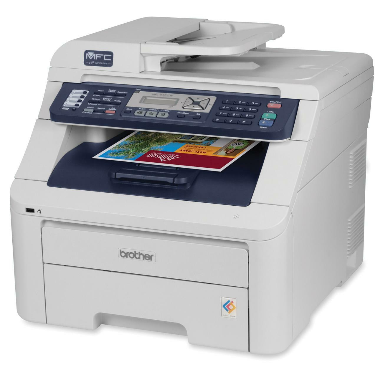 brother mfc 9320cw led multifunction printer color plain paper