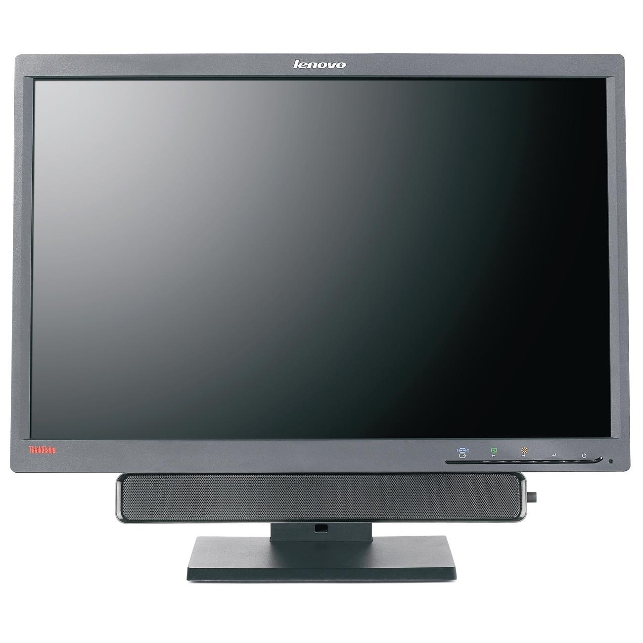 22 Lenovo ThinkVision L2250P 2572-HB6 WideScreen 1680x1050 DVI VGA Black LCD Monitor 2572HB6