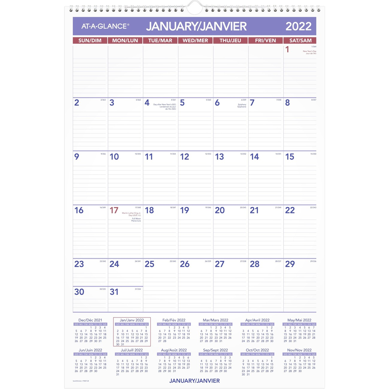 3 month calendar on one page