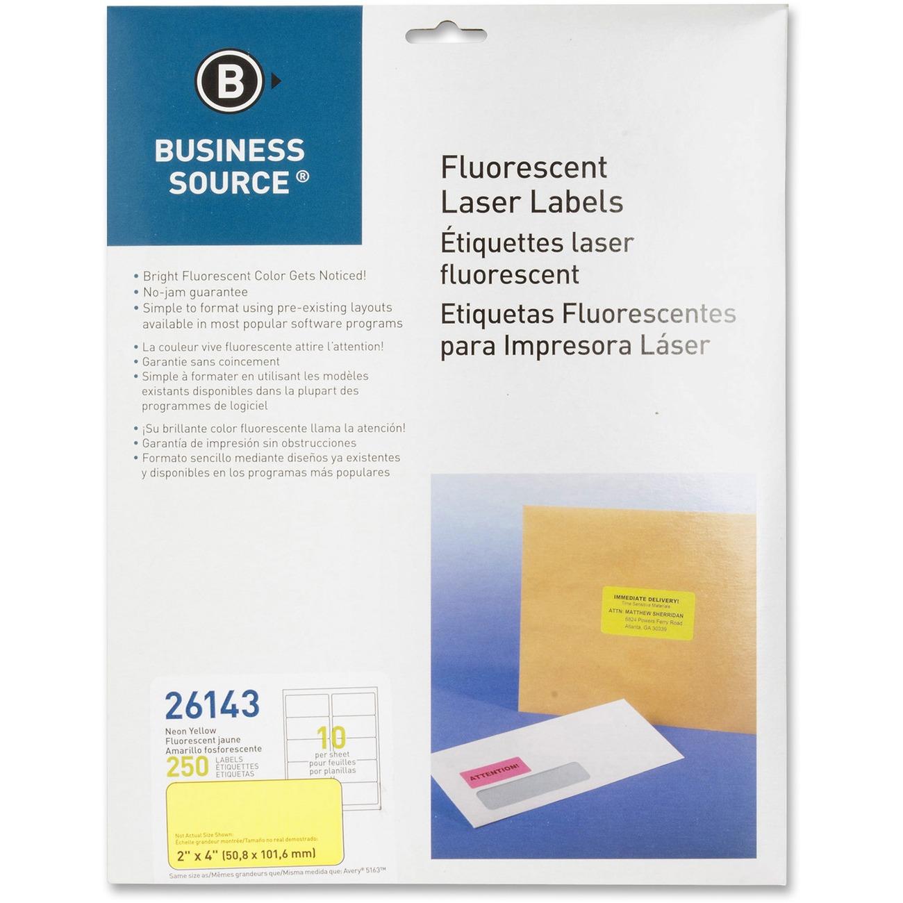 Labels Are Designed For Jam Free Performance In Desktop Laser Printers Feature Pressure Sensitive Permanent Adhesive