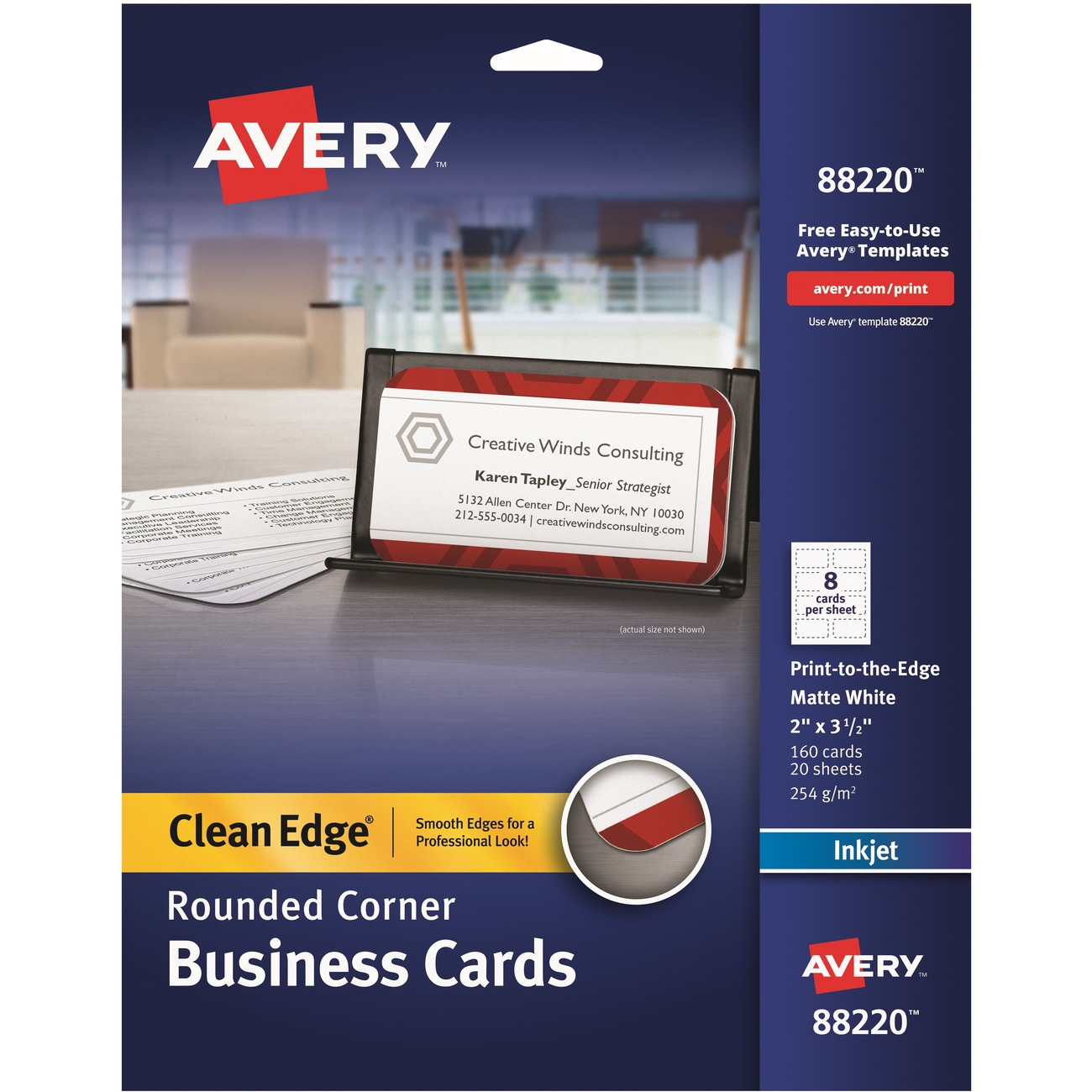 Kamloops office systems office supplies paper pads cards two sided printable business cards help you capitalize on new business prospects the nonperforated two sided cards are extra sturdy and separate easily reheart Image collections