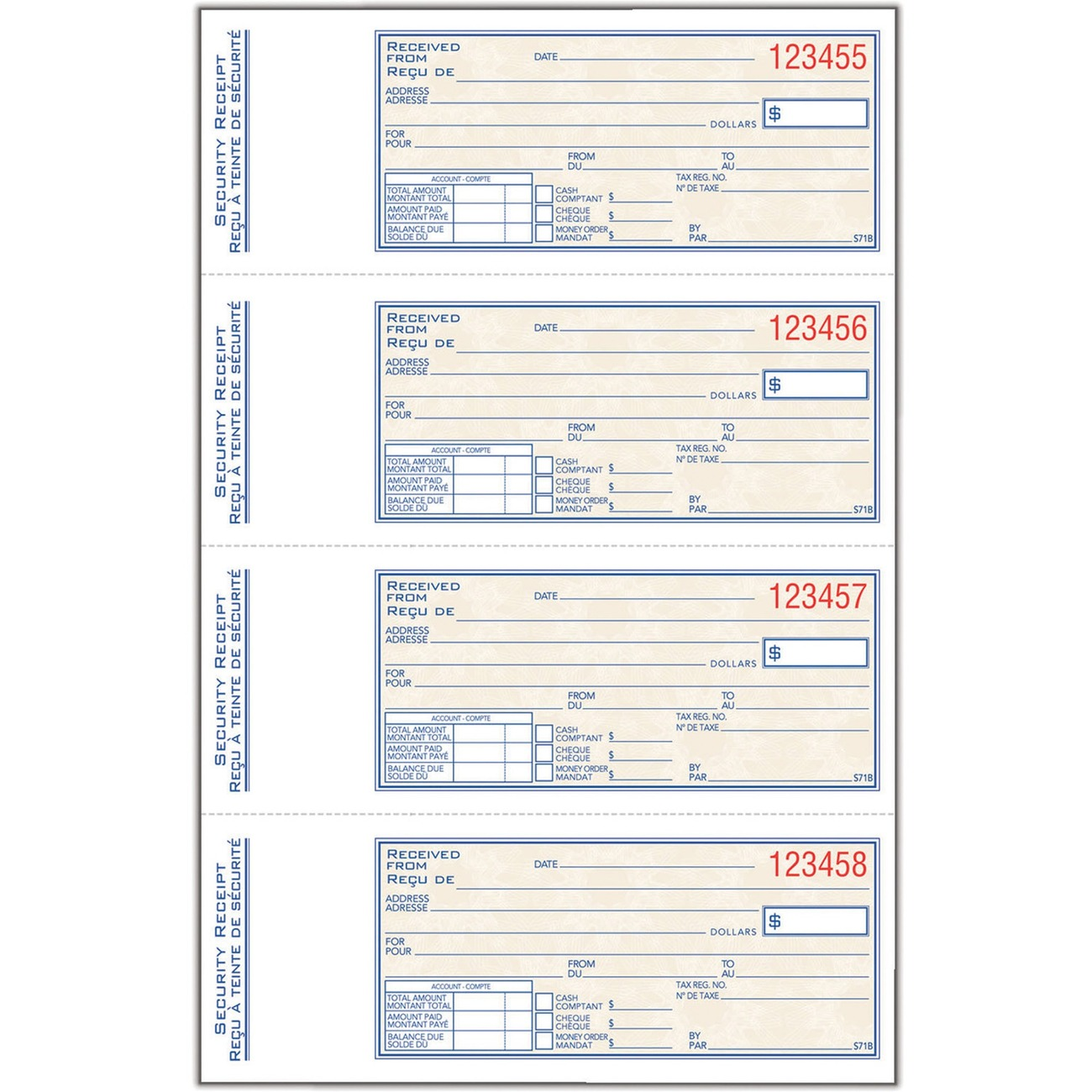 Doc500240 Payment Receipt Book Payment Receipt Book Business – Receipt for Cash Payment