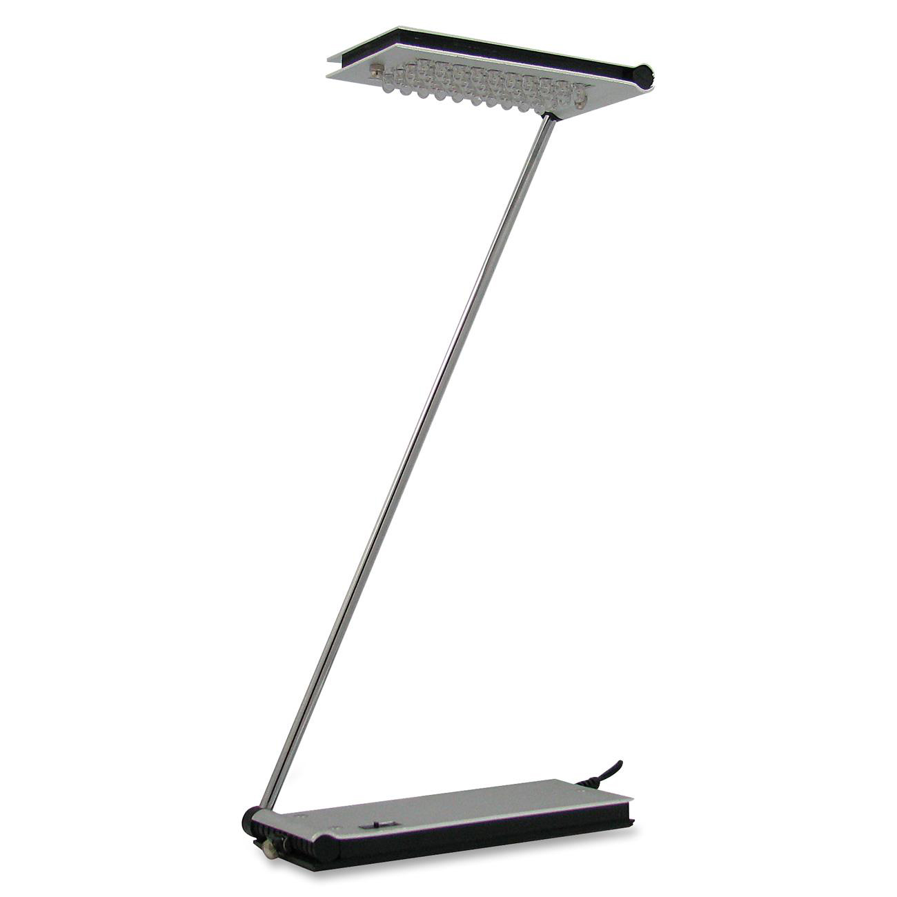 Kamloops Office Systems Furniture Decor Lighting Lamps Vision Rana Desk Lamp 2 W Led Bulb Brushed Aluminum